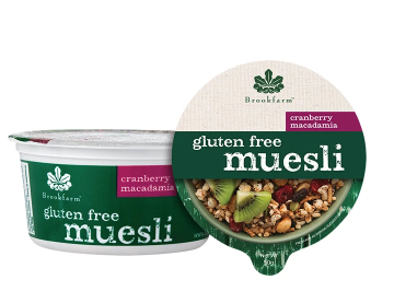 Gluten Free Macadamia Muesli with Cranberry - Tub 50g