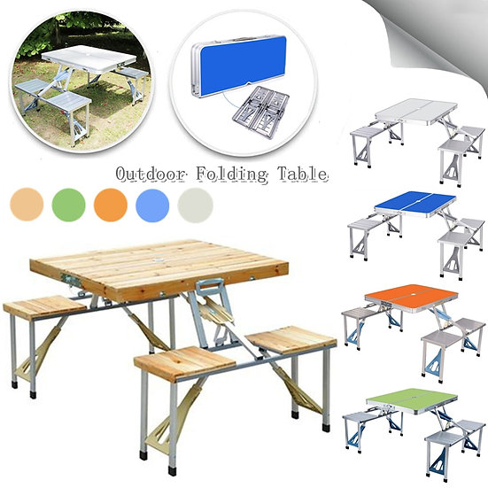 Camping Mini Foldable Table Outdoor Picnic Barbecue Folding Table Folding Garden