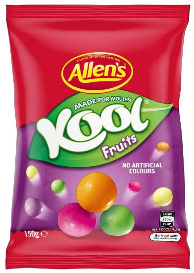 Allen's Kool Fruity Chews 150g