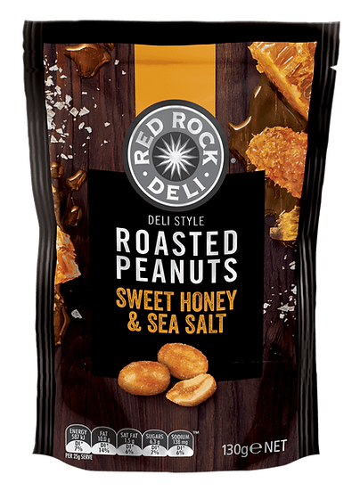 Red Rock Deli Nuts Sweet Honey & Sea Salt 130g