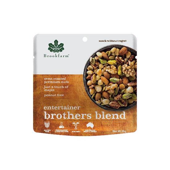Brookfarm Entertainer Brothers Blend Mix Nuts 10 x 35g