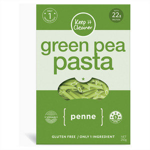 Keep It Cleaner Gluten Free Green Pea Penne Pasta 250g