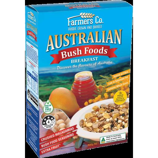 Farmers Co. Bush Foods Breakfast Cereal 500g