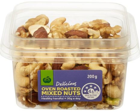 Mixed Nuts Oven Roasted 200g