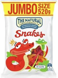 The Natural Confectionary Co. Snakes Large 520g