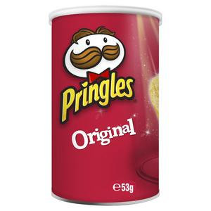 Pringles Original Salted Stacked Potato Chips 53g