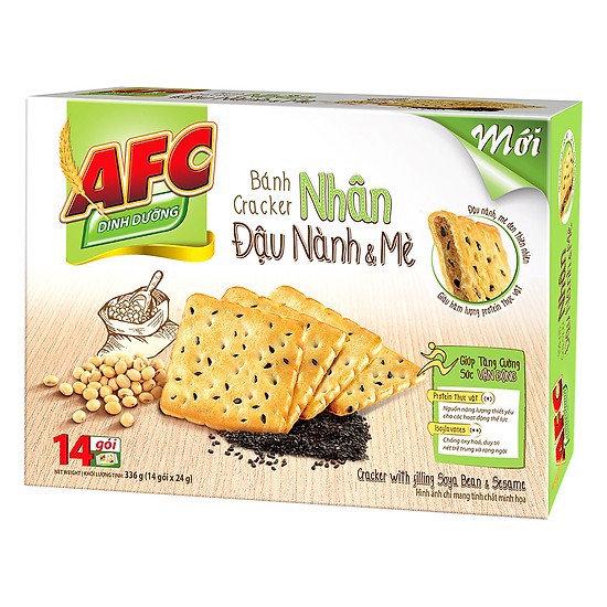 Bánh AFC Đậu Nành Mè 336g/Hộp