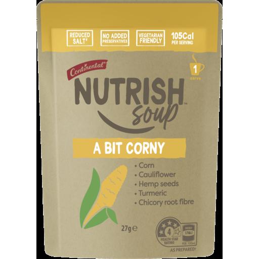 Continental Nutrish Soup A Bit Corny 27g