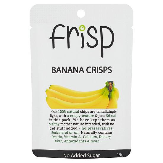 Frisp Banana Crisps 15g