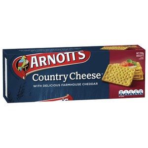 Arnott's Country Cheese Crackers 250g