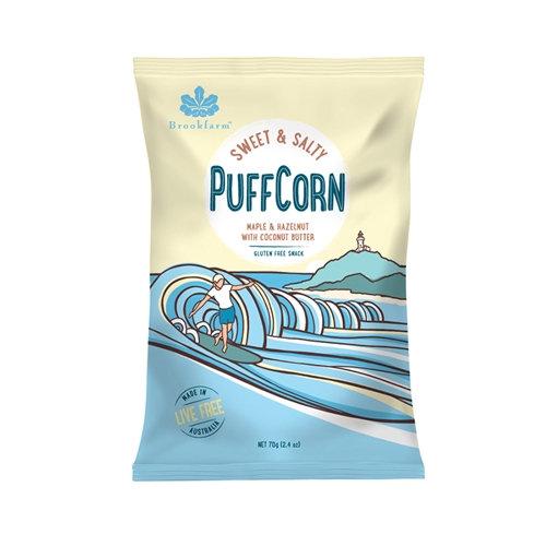 Brookfarm Sweet Salty PuffCorn 70g