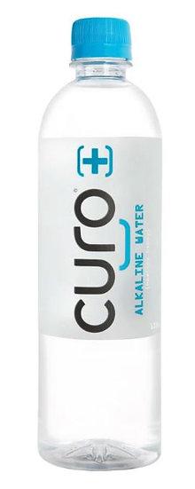 Curo Natural Alkaline Water 600mL x 24 Bottle Case - Hydrate, Cleanse, Nourish