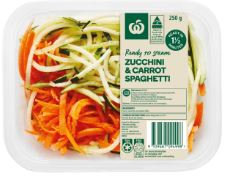 Zucchini & Carrot Spaghetti 250g