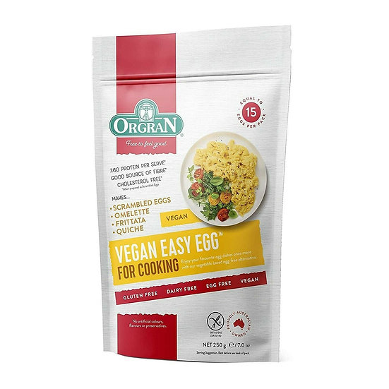 Orgran Vegan Easy Egg 250g - scrambled eggs, quiche, frittata and omelette