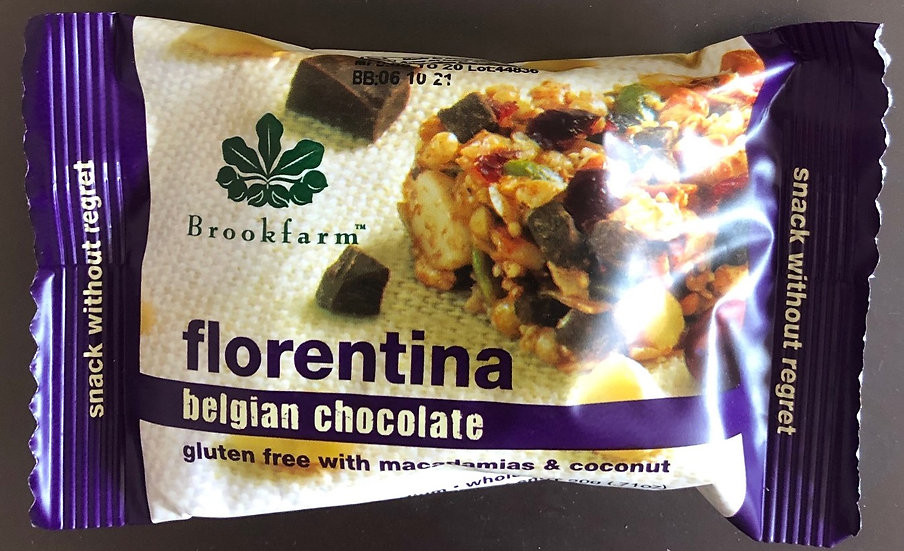 Brookfarm Florentina Bar Healthy Snack 20g x 4