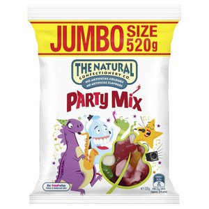 The Natural Confectionary Co. Party Mix Large 520g
