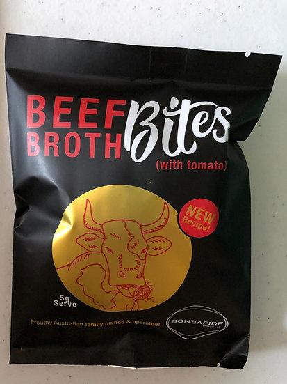 Boneafide Beef and Sun Dried Tomato Bites 10 x 5g