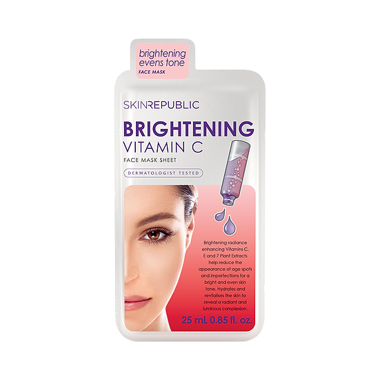 Skin Republic Brightening Vitamin C - Face Mask Sheet 25ml