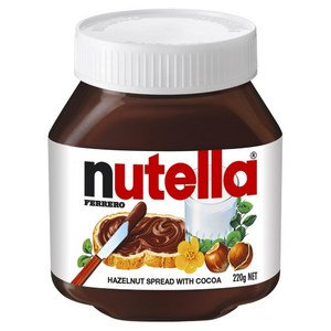 Nutella Hazelnut Chocolate Spread 220g