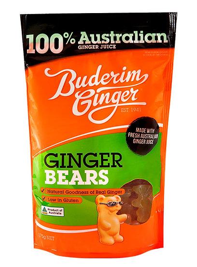 Gummy ginger bears 175g