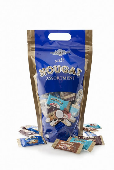 Gluten Free Mix Nougat Limar Assortment- Stand Up Pouch 500g