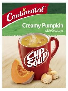 Continental Cup A Soup Creamy Pumpkin with Croutons 2 pack