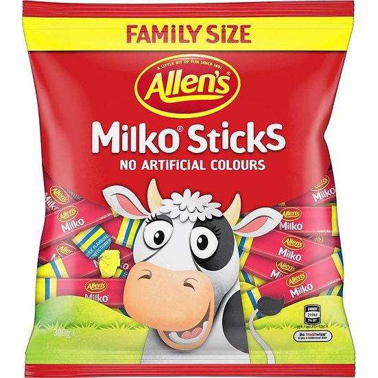 Allen's Milko Sticks 300g