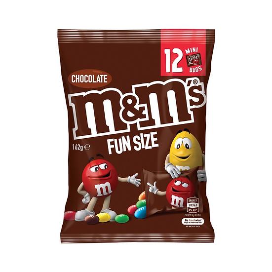 M&m's Chocolate Medium Party Share Bag 12 Piece 162g