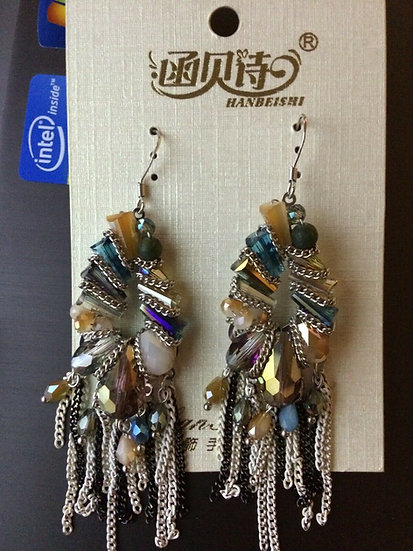 Stone Crystal Earring New Fashion Jewellery Charm Gift