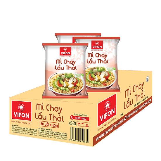 Mì Chay Lẩu Thái 65g Vifon [Thùng 30 Gói]