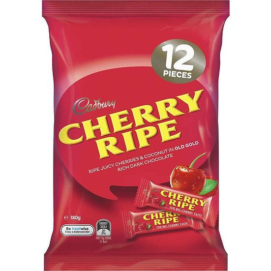 Cadbury Cherry Ripe Sharepack 12pk 180g