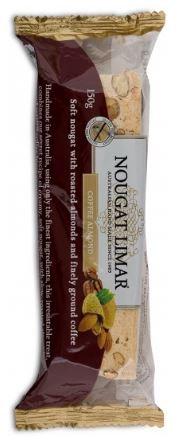 Nougat Limar Coffee Almond 150g - Gluten free