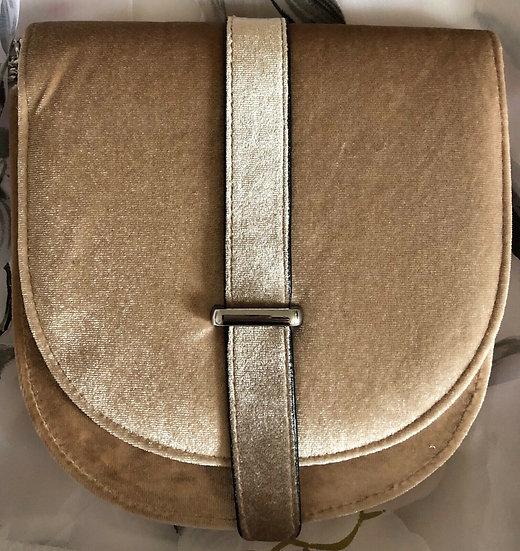 Velvet Fashion Ladies Chain Shoulder Bag Design Crossbody Tote Handbag