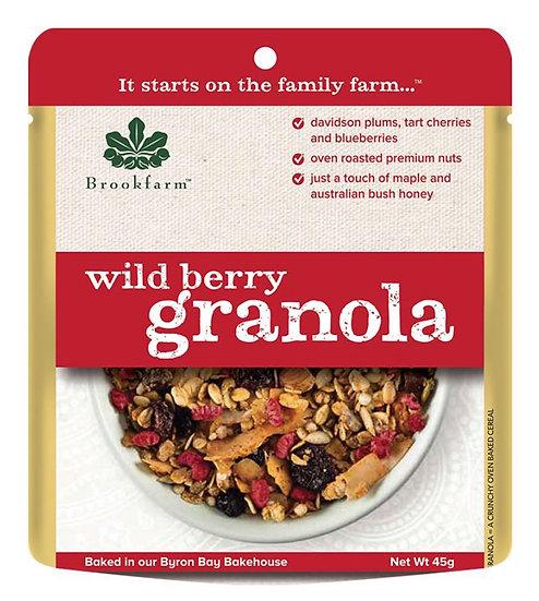Brookfarm - Wild Berry Granola Sachets 45g