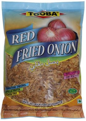 Tooba Red Fried Onion 400g