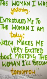 Women cell slogan 2