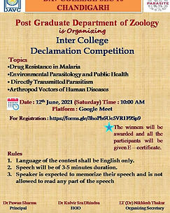 Inter College Declamation Competition