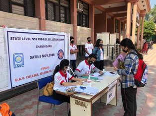 State Level NSS Camp