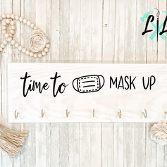 Mask Sign, $40
