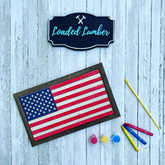 3D Flag, $25