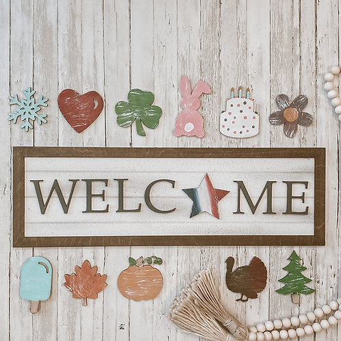3D Farmhouse Signs