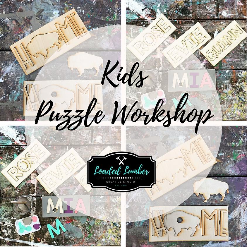 Kids Puzzle Workshop