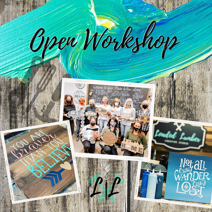 DIY Workshop - Pallet Signs - Aug 11th- 6 to 9pm