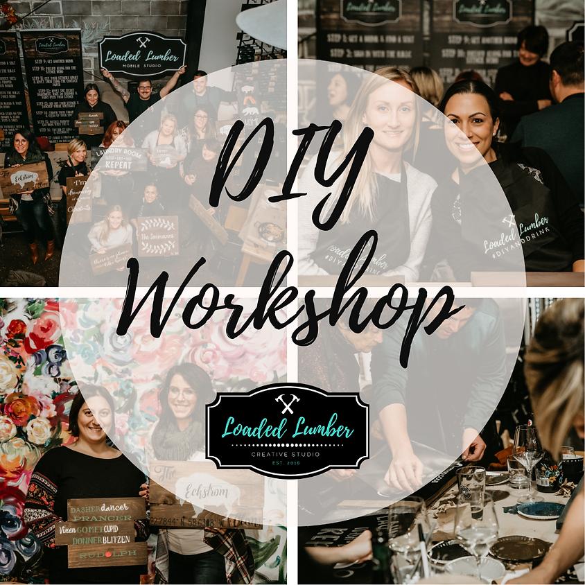 DIY Workshop - 3/24