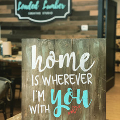 Pallet Signs, $40 and up