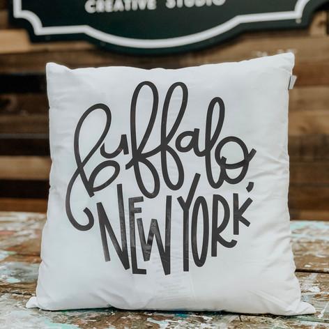 Custom Pillows, $35