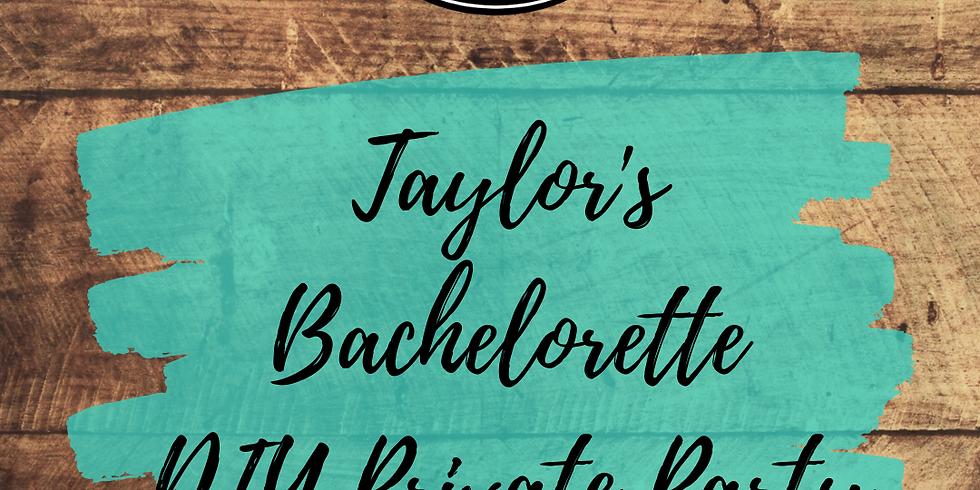 Taylor's Bachelorette Private Party!