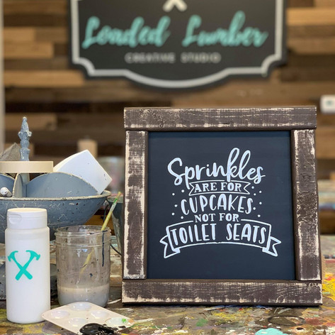 Farmhouse Signs, $40 and up