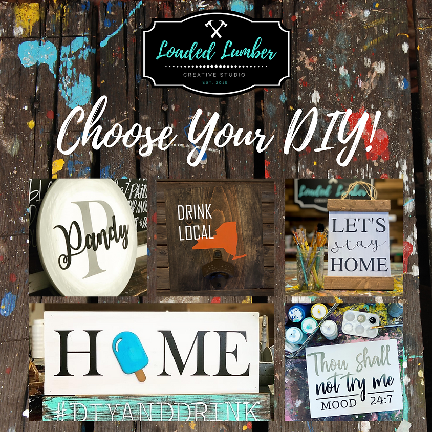 Choose Your DIY!