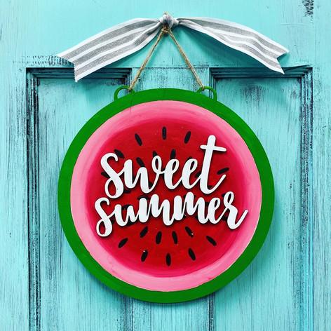 Watermelon Sign, $40